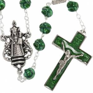 Rosario Ghirelli Madonna di Loreto verde 8 mm s1