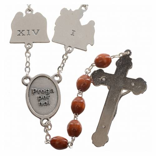 Rosary beads, stations of the cross s2