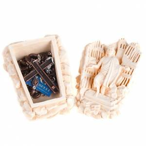 Ghirelli collection rosary beads: Rosary box Ghirelli 9/11 Remembrance