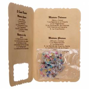 Rosary with Guardian Angel leaflet mysteries litanies s3