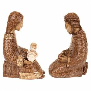 Bethléem Monastery Nativity scene: Rural Nativity in brown color