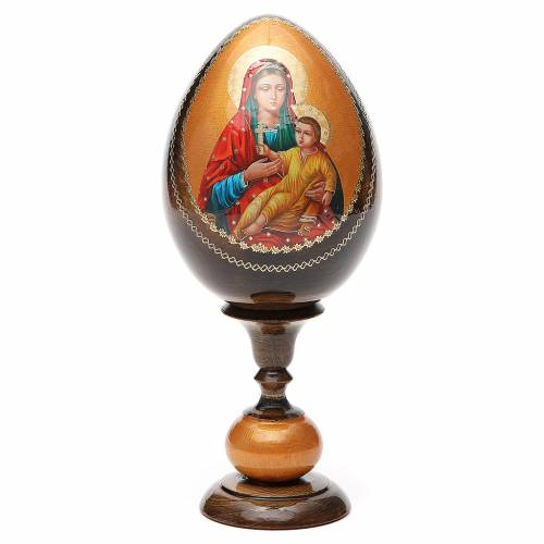 Russian Egg Kozelshanskaya découpage 20cm s1