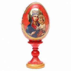 Russian painted eggs: Russian Egg Ozeranskaya Fabergè style 13cm