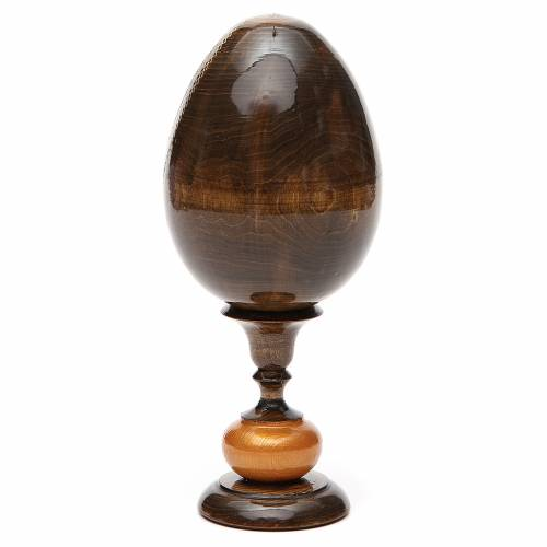 Russian Egg Rublev Trinity découpage 20cm s3