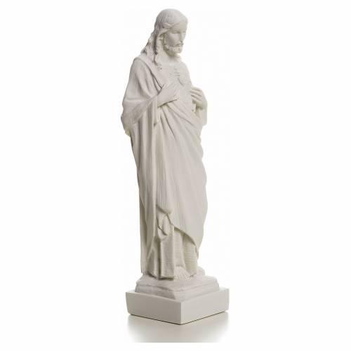 Sacro Cuore Gesù in polvere di marmo s5