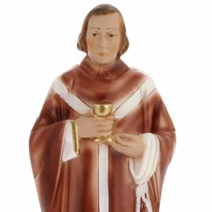 Saint Edmund statue in plaster, 30 cm s2