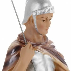 Saint George statue in plaster, 30 cm s3