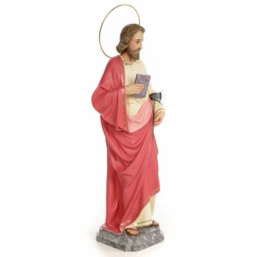 Saint Judas Thaddaeus 60cm, wood paste, fine decoration s4