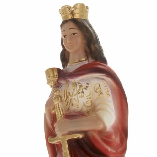 Sainte Barbe plâtre 20 cm s2