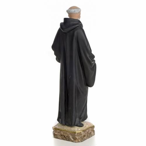 San Benedetto di Palermo 30 cm pasta di legno dec. fine s3