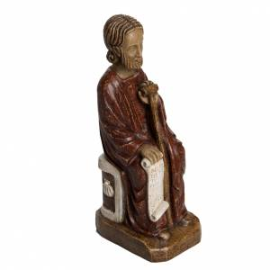 Statue in pietra: San Giacomo 25,5 cm pietra Bethléem