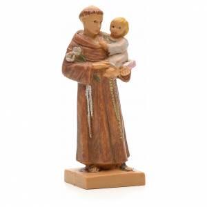 Sant'Antonio da Padova con bambino 7 cm Fontanini s1