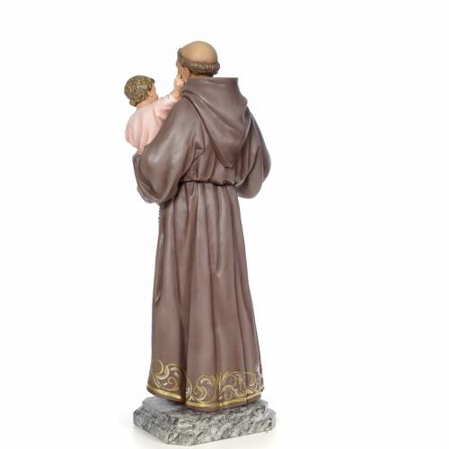 Sant'Antonio da Padova 100 cm pasta di legno dec. elegante s3
