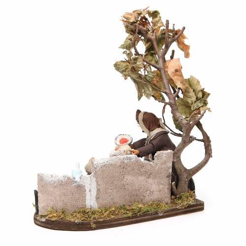 Scene of mercy, Neapolitan nativity figurine 12cm s3