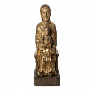 Sede della Sapienza 72 cm legno dorato Bethléem s1