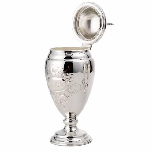 Servizio per oli sacri 18 cm argento 800 s2