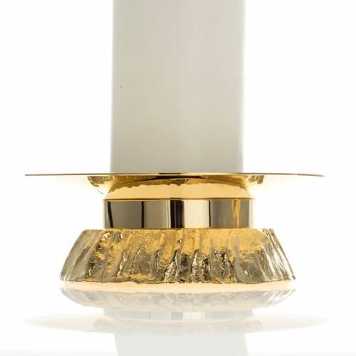 Set bougies en pvc avec chandeliers s3