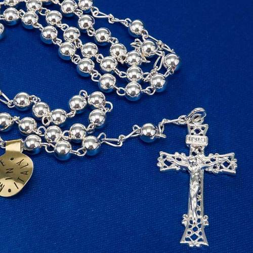 Silver 925 rosary 6 or 3 mm beads 7