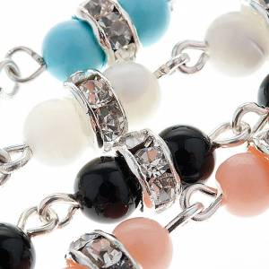 Silver bracelets: Silver bracelet and gemstone