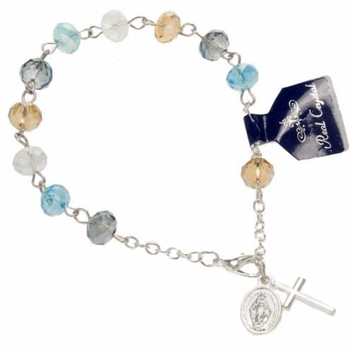 Single-decade bracelet in crystal 8x6mm s1