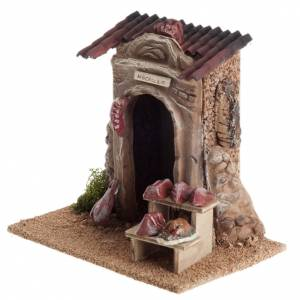 Small butcher store for nativities s4