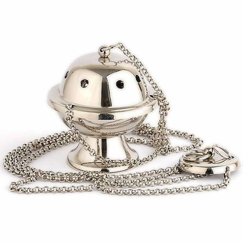 Small silver-plated thurible s1