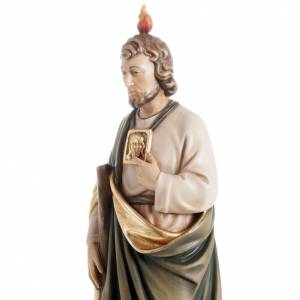 St Jude Thaddeus wooden statue painted s3
