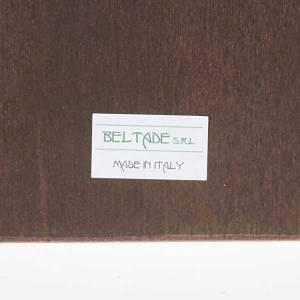 Stampa Papa Giovanni Paolo II legno con cornice s3