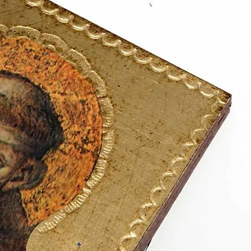 Stampa San Francesco d'Assisi legno s2