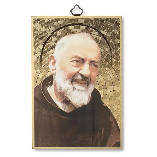 Stampa su legno Padre Pio Preghiera a Padre Pio ITA s1