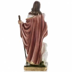 Statua Gesù Buon Pastore 30 cm gesso s6