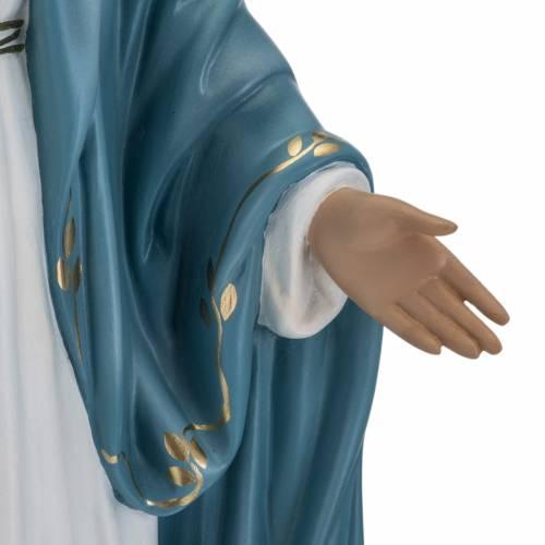Statua Immacolata 60 cm Landi vetroresina occhi cristallo s4