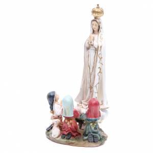 Statua Madonna Fatima 30 cm resina s2