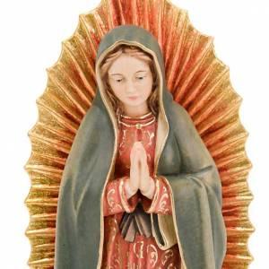 Statue in legno dipinto: Nostra Signora di Guadalupe