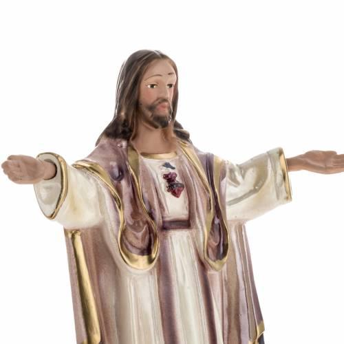 Statua Sacré Coeur de Montmartre gesso madreperlato 20 cm s2