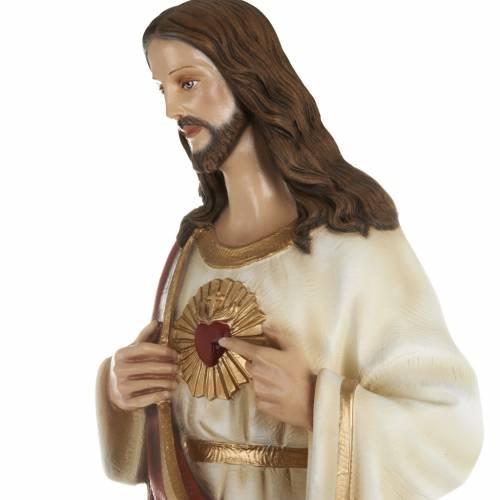 Statua Sacro cuore di Gesù 80 cm s4
