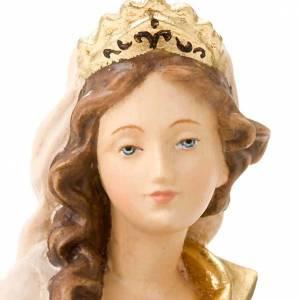 Statue in legno dipinto: Sant'Anna con Maria Bambina