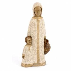 Statue in pietra: Vergine di Nazareth bianca