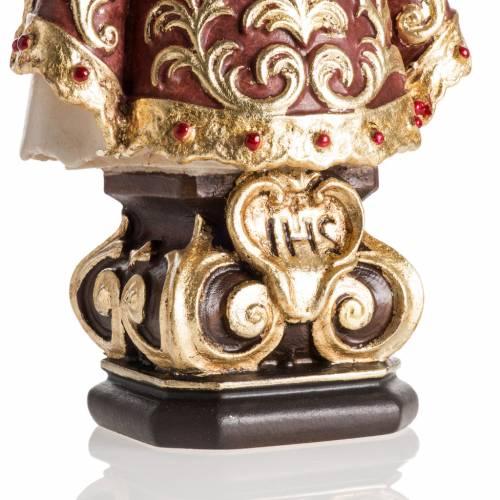 Statue Enfant Jésus de Prague peinte bois Val Gardena s3