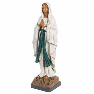Statuen aus Harz und PVC: Statue Gottesmutter von Lourdes 40cm, Fontanini