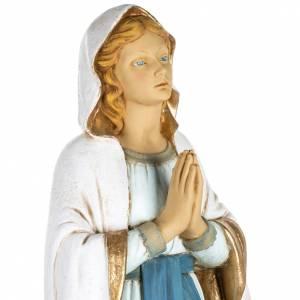Statuen aus Harz und PVC: Statue Gottesmutter von Lourdes aus Harz 100cm, Fontanini