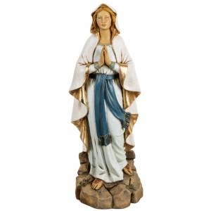 Statuen aus Harz und PVC: Statue Gottesmutter von Lourdes Harz 50cm, Fontanini