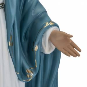Statue Immaculée 60 cm fibre de verre yeux cristal Landi s4