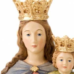 Statuen aus gemalten Holz: Statue Maria