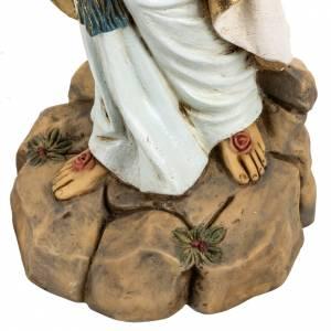 Statue Notre Dame de Lourdes 50 cm résine Fontanini s3