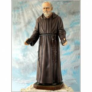 Fiberglas Statuen: Statue Pio von Pietralcina 150cm, Landi