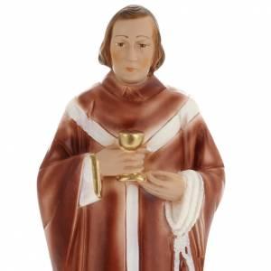 Statue Saint Edmond plâtre 30 cm s2