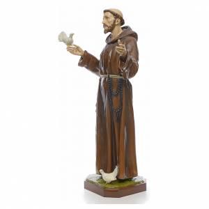 Statue Saint François en fibre de verre 170 cm s2