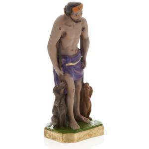 Statue Saint Lazare plâtre 30 cm s2