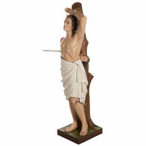 Statue Saint Sébastien fibre de verre 125 cm s7